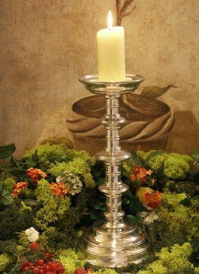 Pique cierge Saint Germain en etain