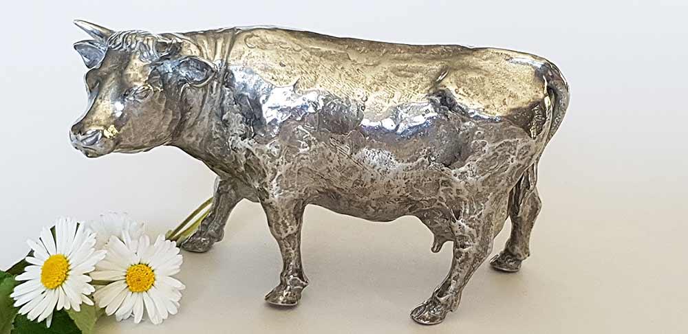 vache en etain