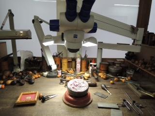 atelier de gravure Louisnard