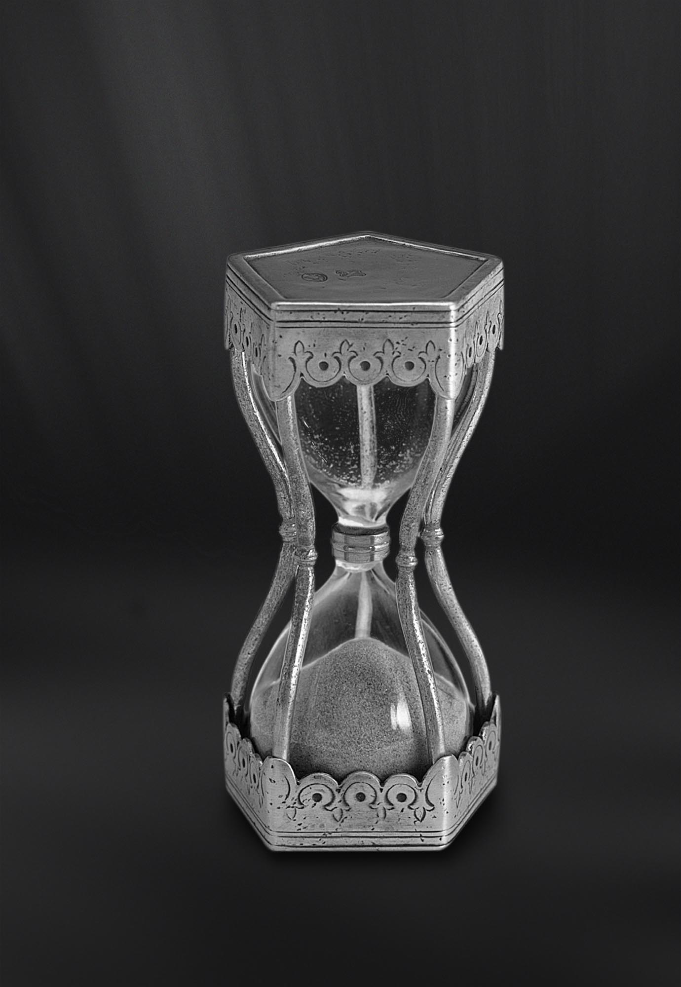 SABLIER etain antique