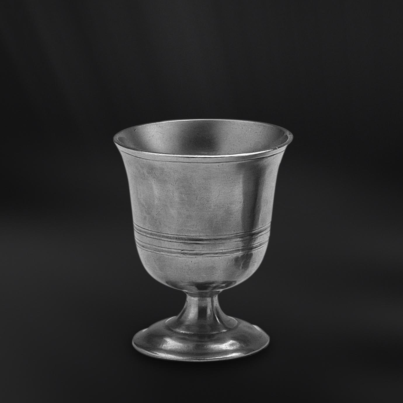 GOBELET TIMBALE CALICE etain antique