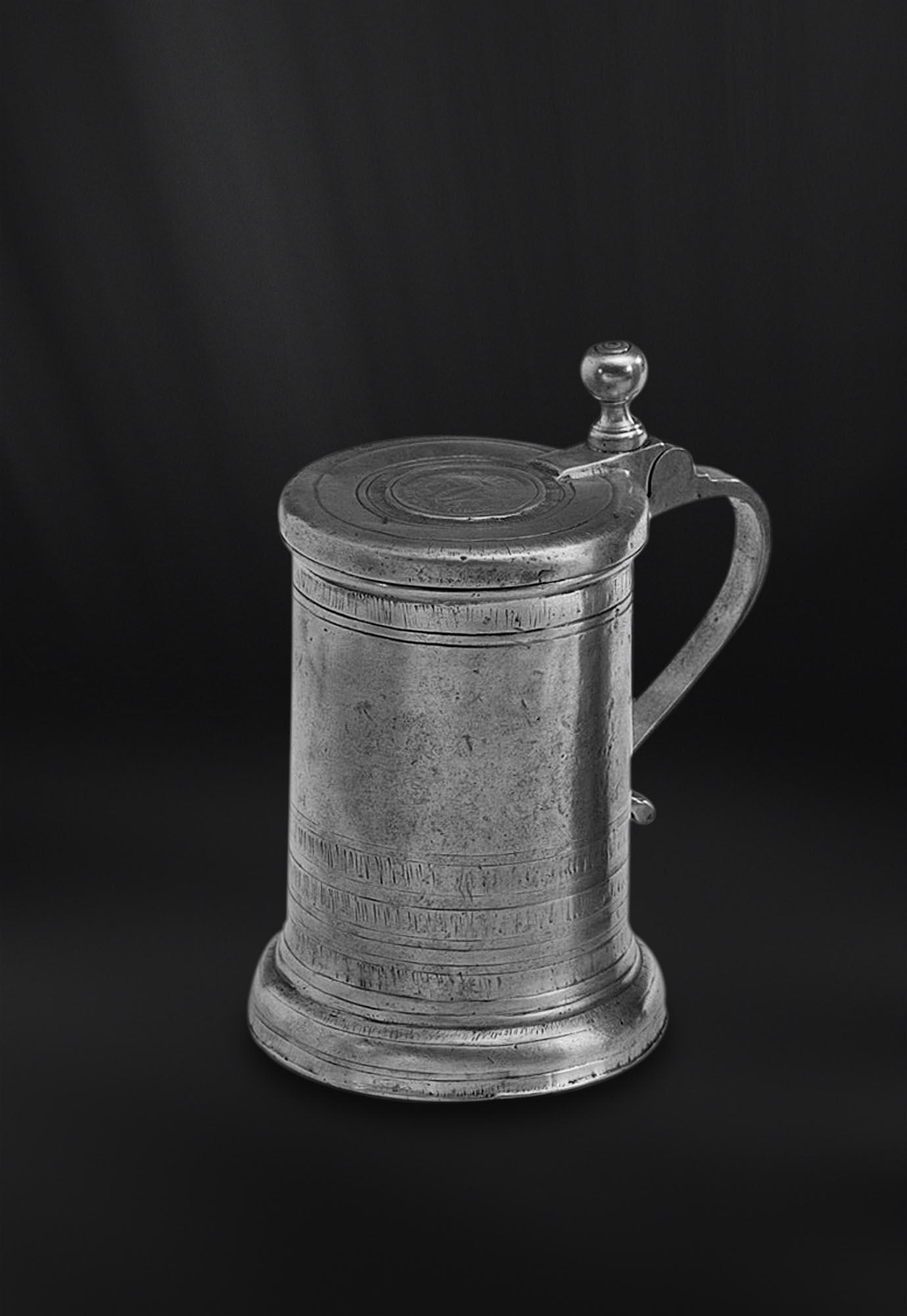 CHOPE etain antique