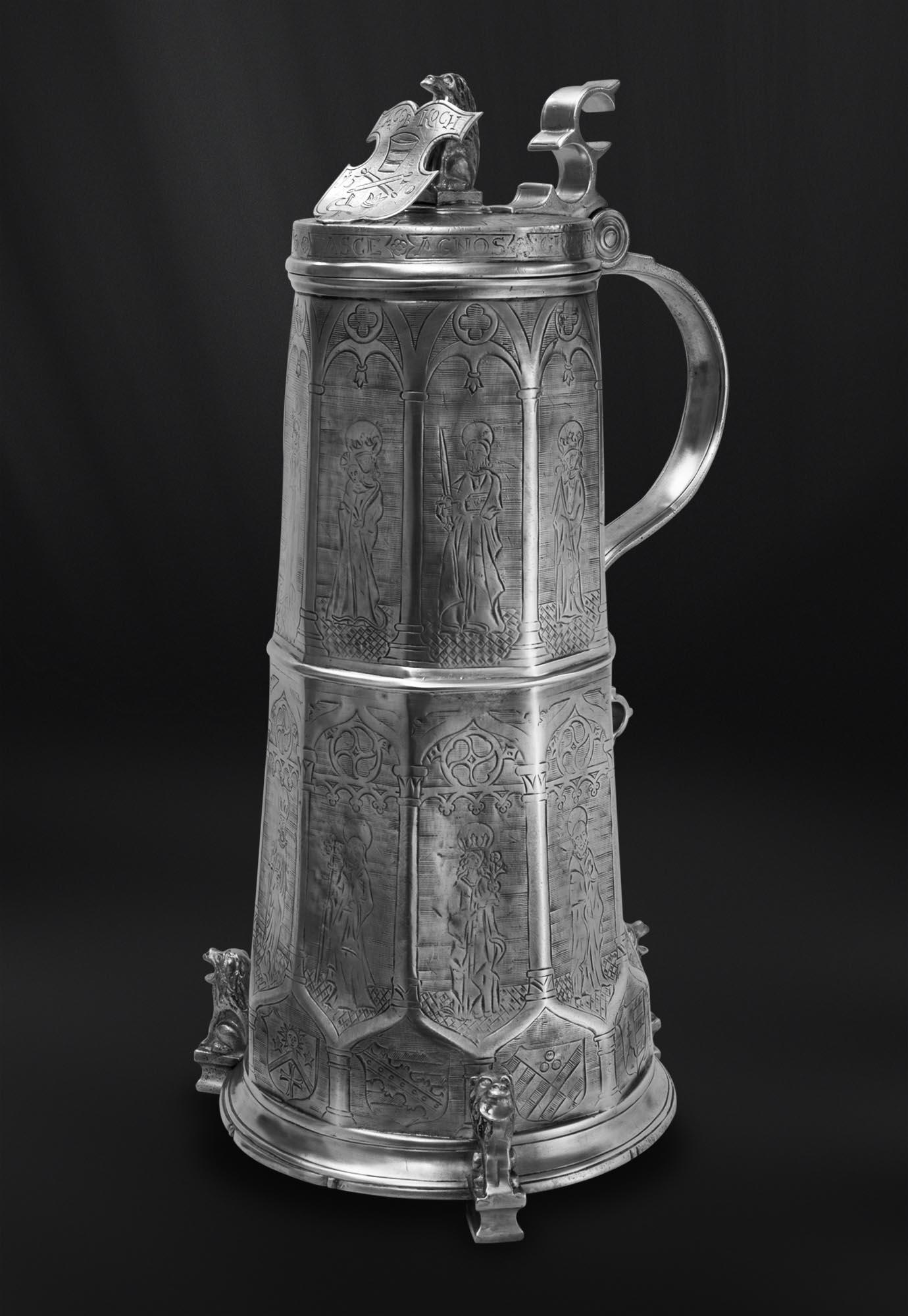 CHOPE DE CORPORATION etain antique