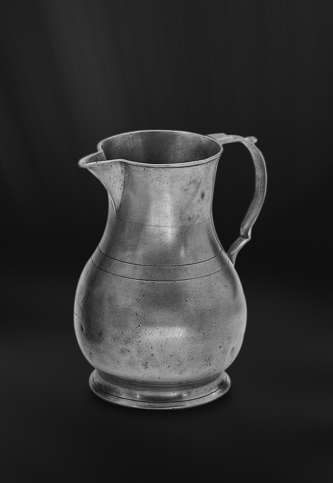 BROC CRUCHE PICHET etain antique