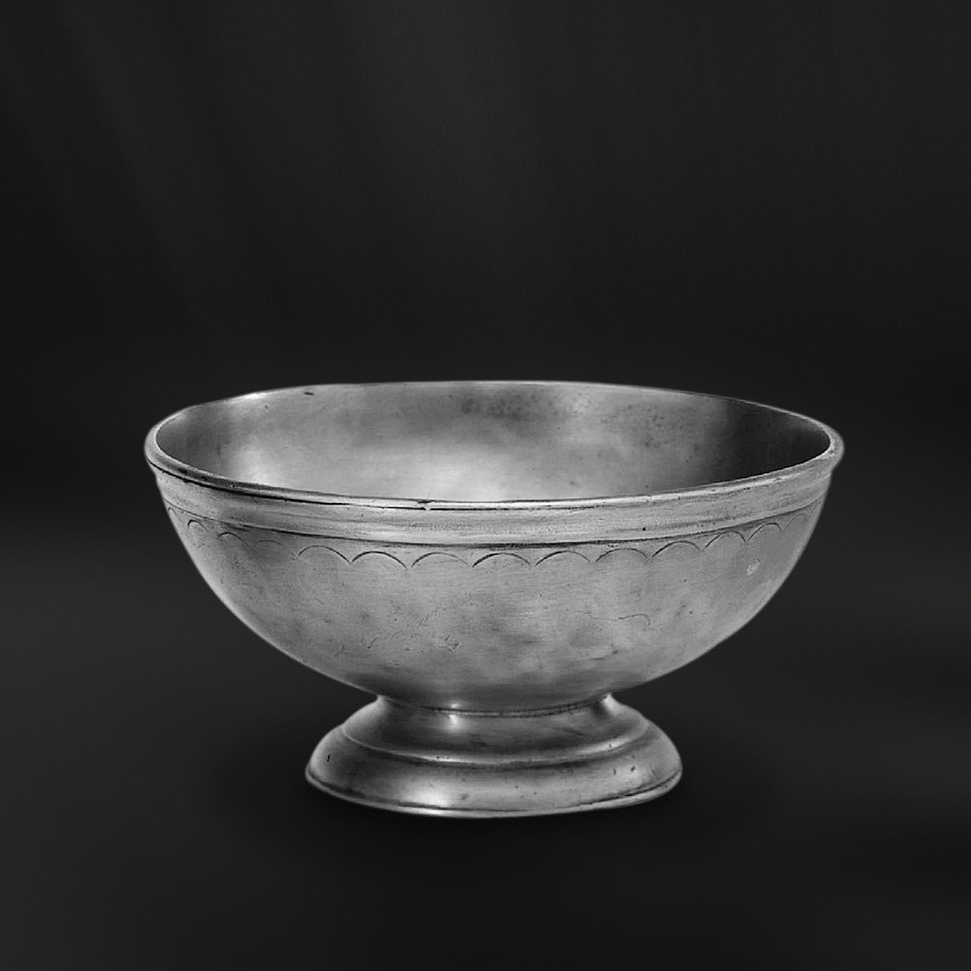 COUPELLE OU BOL etain antique