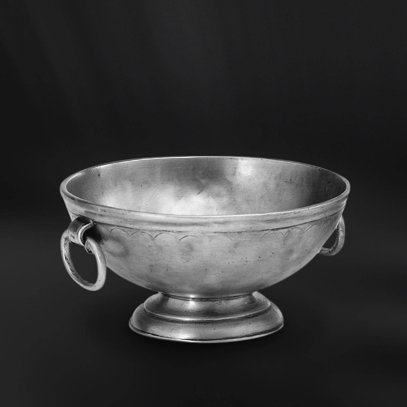 COUPE COUPELLE BOL etain antique