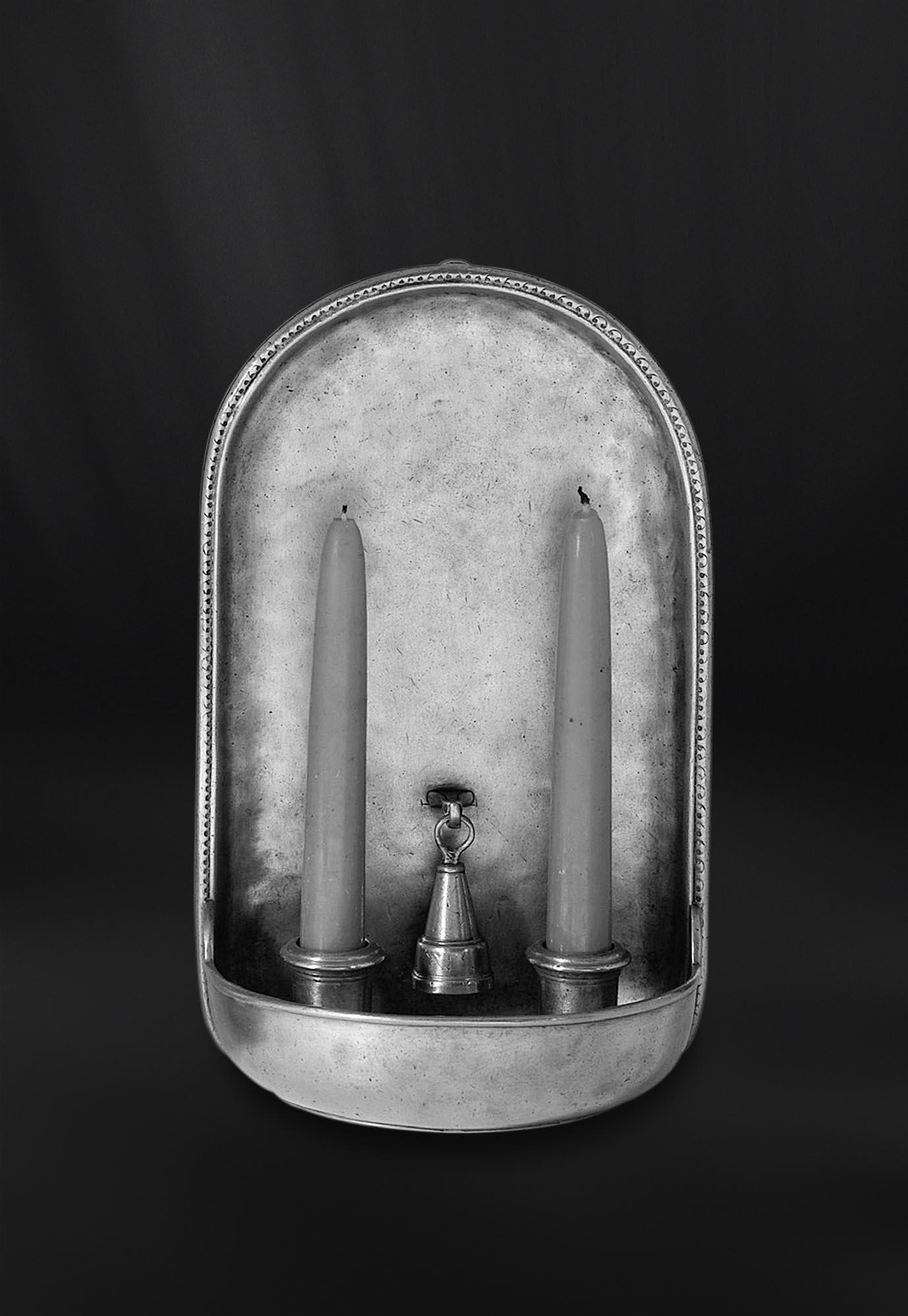 APPLIQUE etain antique