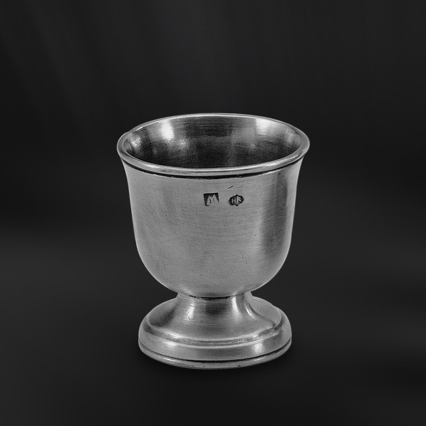 COQUETIER etain antique