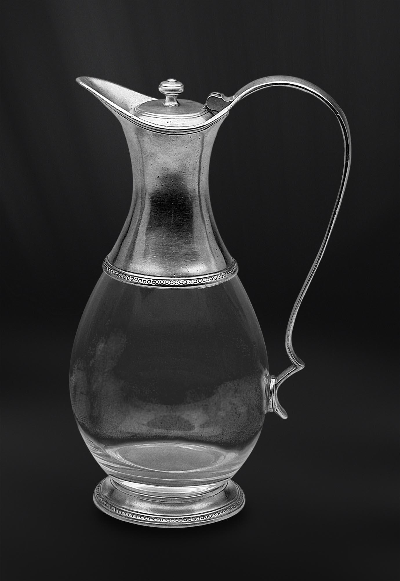 CARAFE BOUTEILLE DECANTEUR etain antique