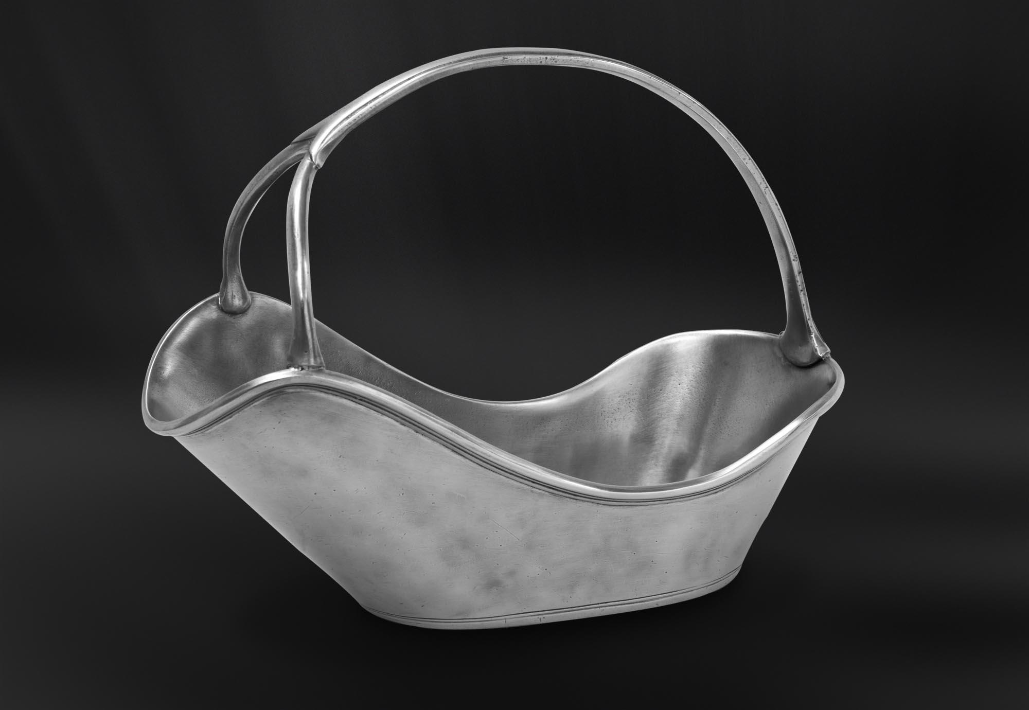 PORTE BOUTEILLE etain antique