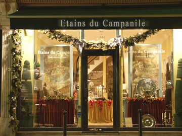 Etain Passion, boutique etains Paris